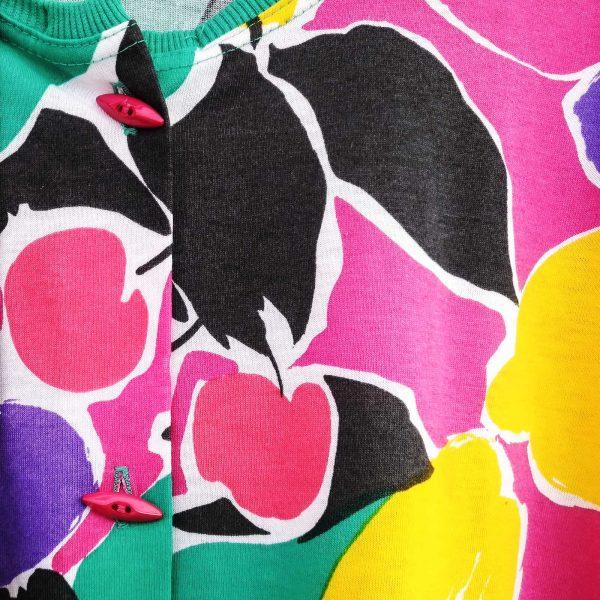 maglia anni '90 Schiesser, dettaglio stampa